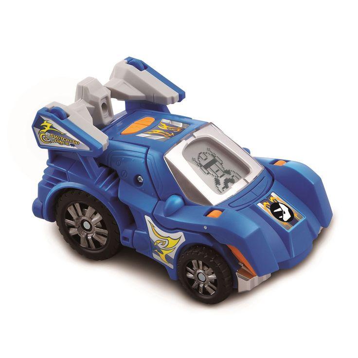 Binnen een aantal stappen verander je je super voertuig in een levensechte Triceratops. Gebruik de toetsten om verschillende activiteiten, zoals dinosaurus weetjes, geluidseffecten en gelaatsuitdrukkingen te activeren.kenmerken:- 2 in 1! Switch eenvoudig van een super racer naar een dinosaurus!- Leer alles over dino's- Meer dan 30 stoere geluiden en zinnen zorgen voor urenlang speel- en leerplezier- Waanzinnige weetjes en realistische geluiden stimuleren het spelen van een rollenspel…