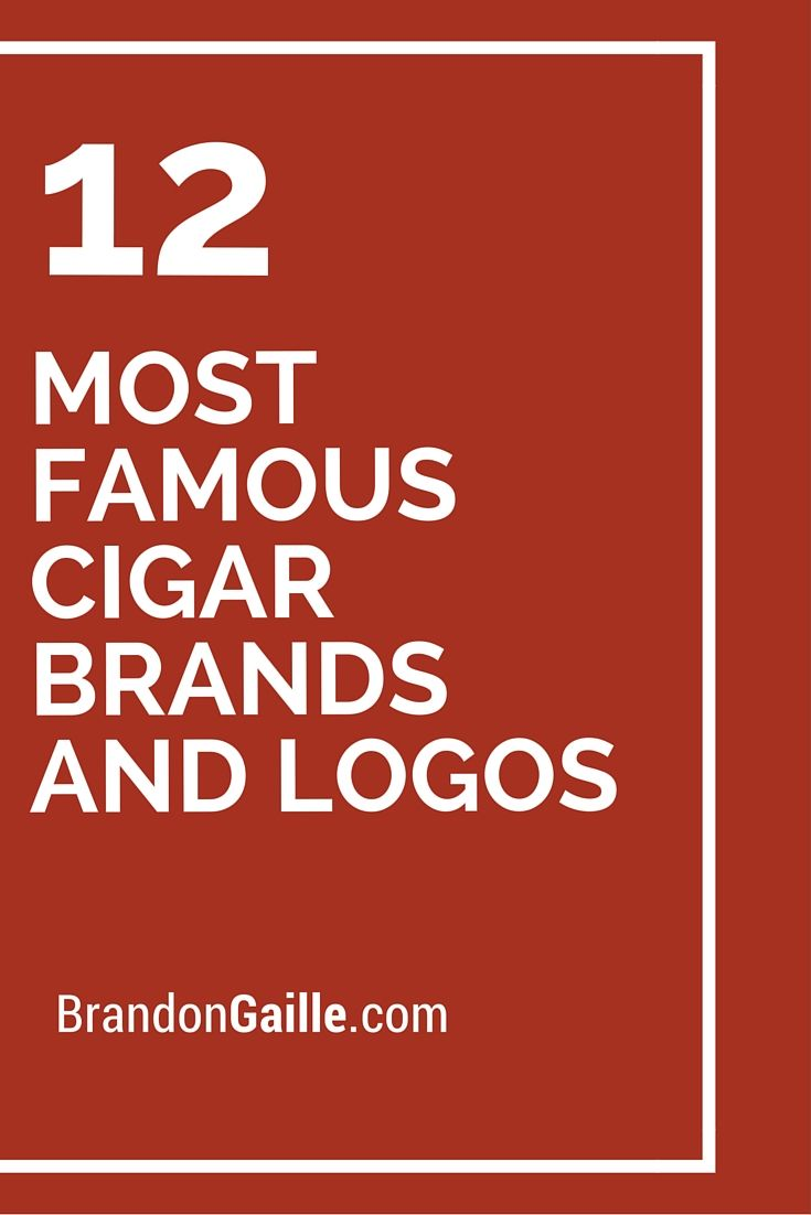 12 Most Famous Cigar Brands and Logos