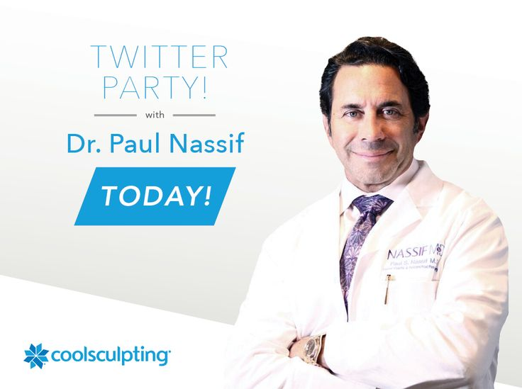 Twitter Party This Morning! Learn More About CoolSculpting® & #AskDrNassif Your Questions! AD #CoolSculpting
