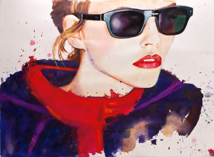 Il mondo di Mary Antony: Le illustrazioni di moda di Marcela Gutierrez