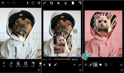 Cara Mengganti Wajah Dengan PicsArt Android