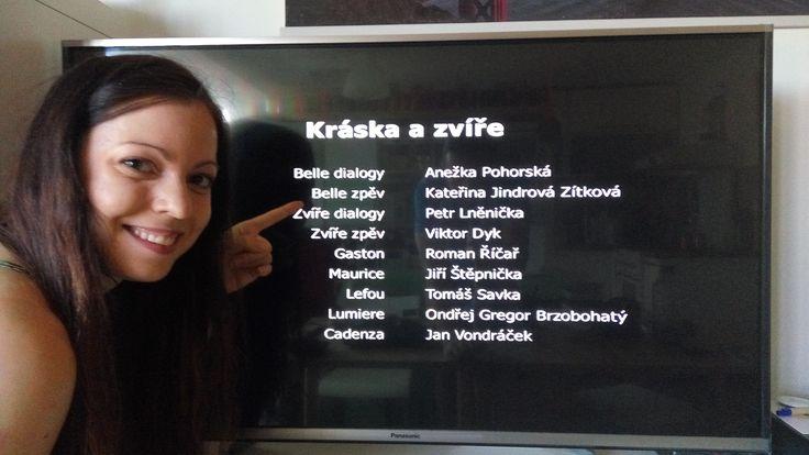 Kateřina Jindrová Zítková - zpěvačka - Belle v pohádce Kráska a zvíře - www.jindrovka.cz