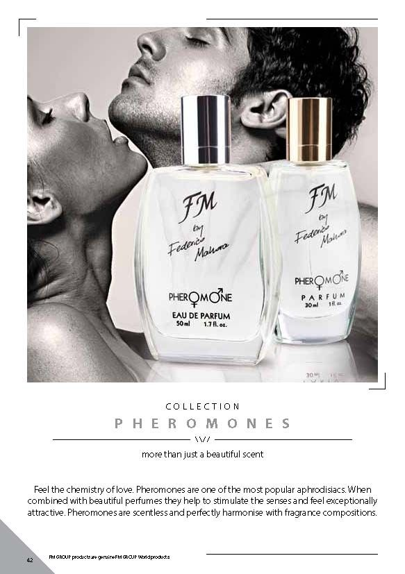 Ideal gift for Valentine's Day PHEROMONE FRAGRANCES FROM FM GROUP   Pheromones are the secret weapon. These volatile, scentless substances make you more attractive to others and make you feel confident. Use them before a date or an important meeting. Always when you want to make a good impression.  http://www.love-perfumes.co.uk/fmpheromoneperfumesforwomen.html
