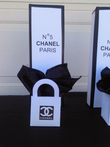 f22e0774de2143 Chanel Shopping Bag Favors by mommymogul on Etsy, $10.00 | etsy love. |  Chanel party, Chanel baby shower, Chanel decor