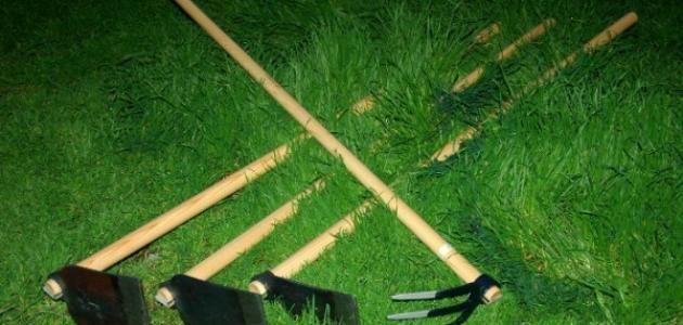 محتويات ١ الحفر ٢ أدوات الحفر ٢ ١ المجرفة والجرافة ٢ ٢ المثقاب ٢ ٣ ماسورة التغليف ٢ ٤ مطرقة التكسير أو الكمبروسر كمبريسة ٢ ٥ الحفر الدوراني Garden Tools Tools