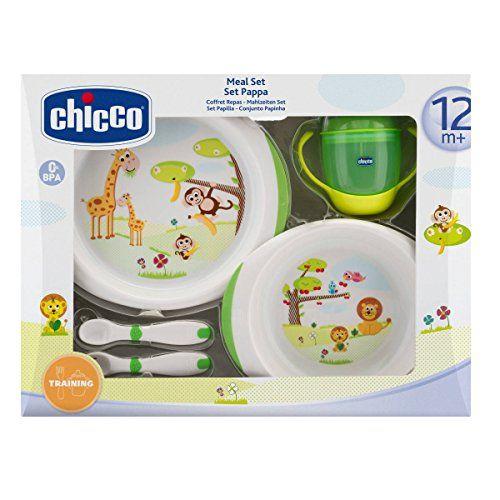 excelente Chicco 6833000000 - Juego de vajilla y cubertería infantil, a partir de 12 meses