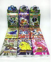 25 o 17 Unids/set Tarjetas de Pokemon Juego Inglés Anime Pokemon Tarjetas Poker Tarjetas de Juguete Para El Regalo de Los Niños Juguete Divertido