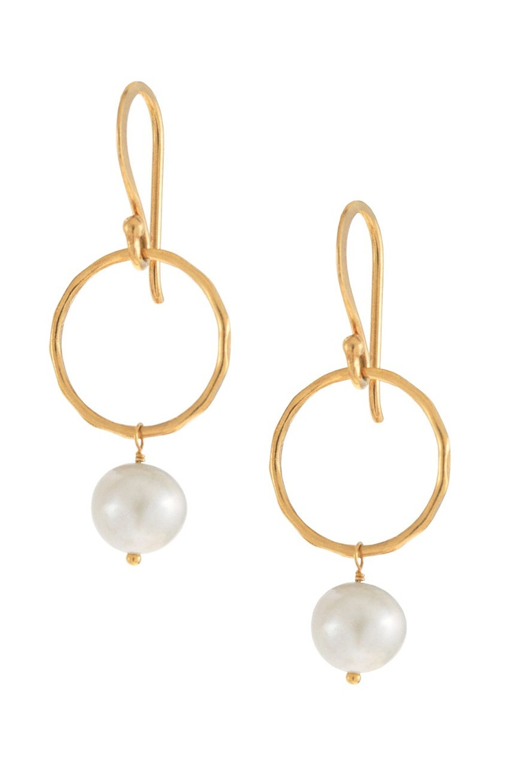 Treat mom to a pair of Stella & Dot Grace Pearl Earrings