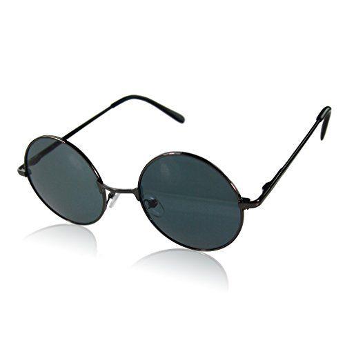 HD Unisex Metallrahmen UV401 Sonnenbrillen Sonnenbrillen Herren Pilotenbrille Grau