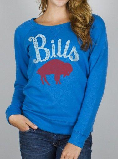 2013n$64 Junk Food Clothing - NFL Buffalo Bills Fleece - Womens
