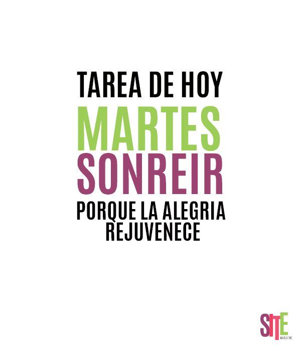 Martes de Sonreir!!!  #sonreir #felicidad #optimismo