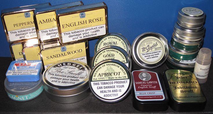 Snuff (tobacco) - Wikipedia