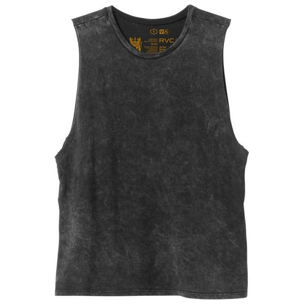 RVCA Women's Label Muscle T-Shirt found on Polyvore