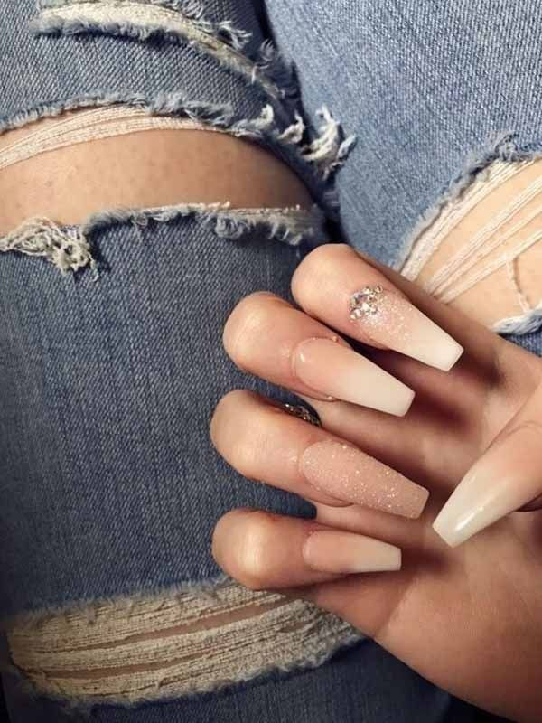 25 komplette Puder-Dip-Nägel für Ihre schönen Nägel geben Ihnen ein ordentliches und …   – Nageldesign