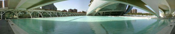 Ciudad de las Artes y las Ciencias de Valencia, España 2012