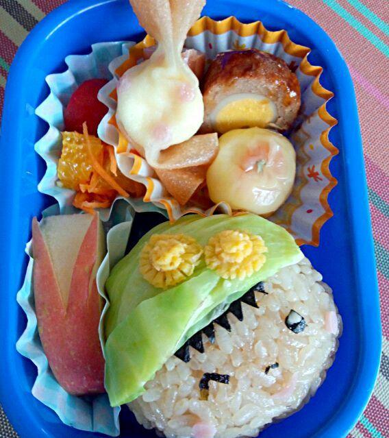 9回目(10月)の息子のお弁当♪ 運動会リハーサルの時のお弁当♪ - 2件のもぐもぐ - 幼稚園お弁当(年少) by TSUKI