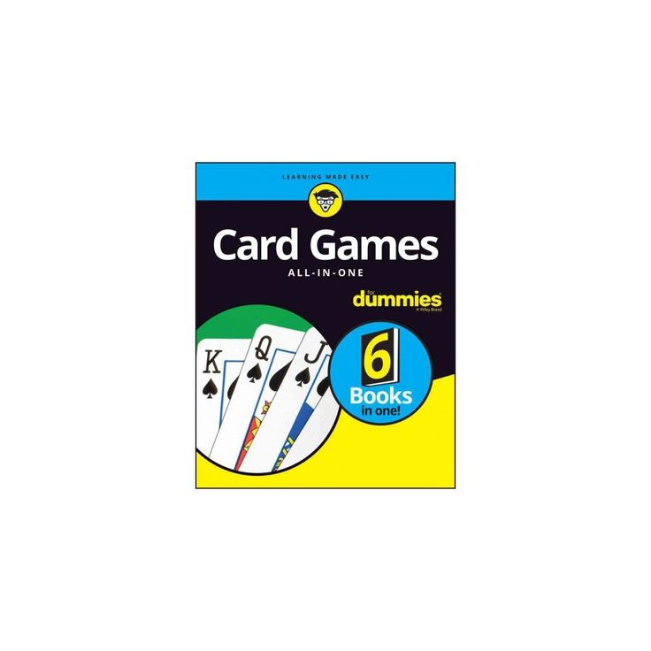Card Games All-in-One for Dummies (Paperback) (Kevin Blackwood & Chris Derossi & Mark Harlan & Richard
