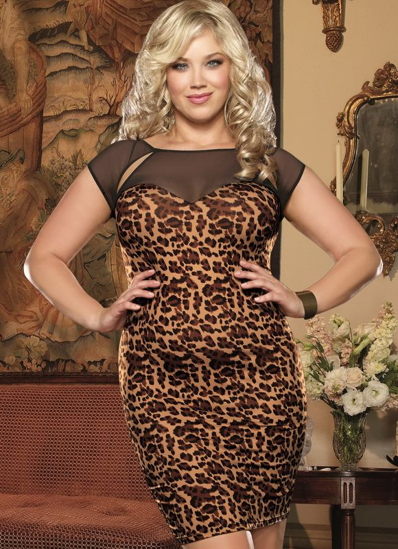 47 best Plus Size Leopard Print Dress images on Pinterest