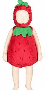 Dress up by Design Baby Strawberry Costume - This gorgeous soft rounded strawberry dressing up suit comes complete with a cute strawberry themed hat. Featuring popper fastening and a soft lining. its both cute and comfortable. Perfect for partie http://www.comparestoreprices.co.uk/childrens-dressing-up-clothes/dress-up-by-design-baby-strawberry-costume-.asp