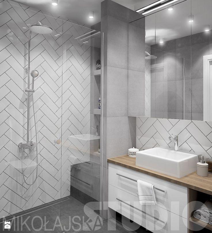 nowoczesna łazienka - zdjęcie od MIKOŁAJSKAstudio - Łazienka - Styl Nowoczesny - MIKOŁAJSKAstudio