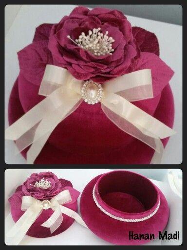 Handmade by me :)  Takı kutusu