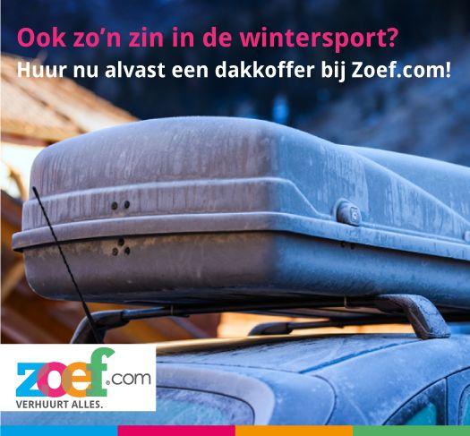 Jij zult wel klaar zijn voor wintersport! Maar is je auto dat ook? Wij verhuren verschillende auto accessoires: