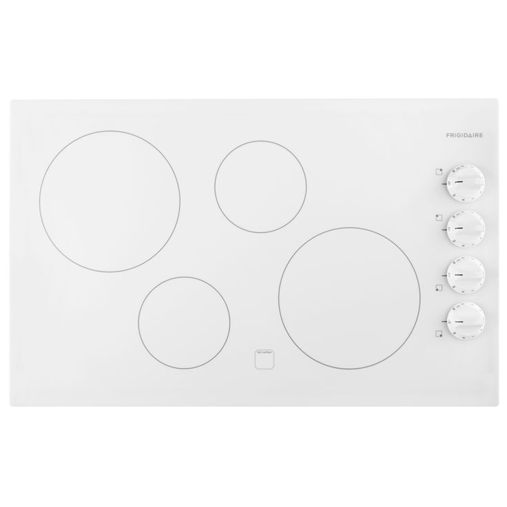 Frigidaire Smooth Surface (Radiant) Electric Cooktop (White) (Common: 32-in; Actual 32.25-in)