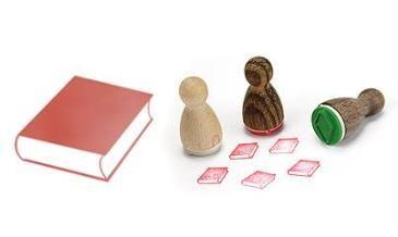 Stempelkaartsetje voor boekenwurmen