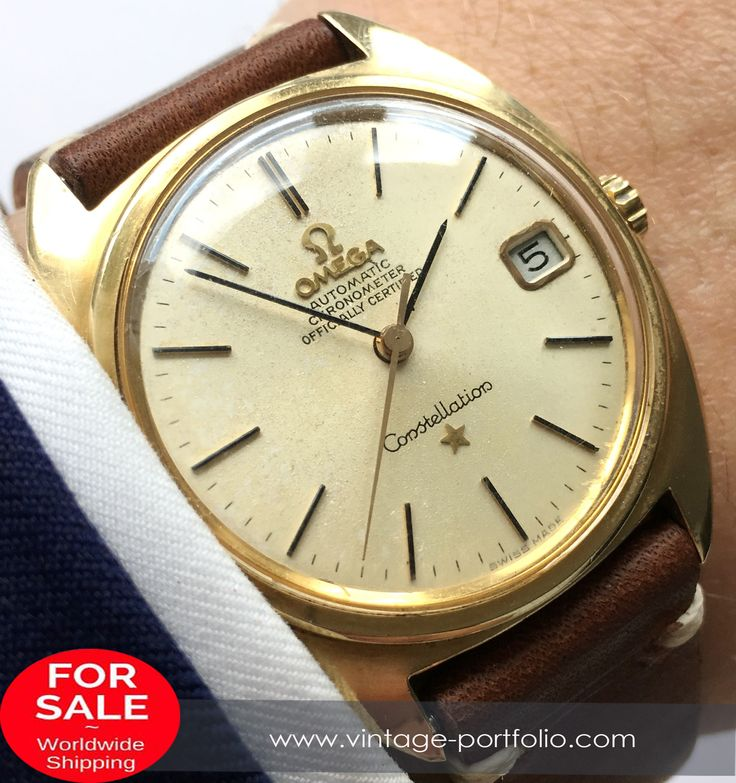 1967 Full Set Omega Constellation Automatic Solid Gold  #omega #omegawatches #watch #watches #omegaconstellation #constellation #petiteseconde #watchoftheday #watchesofinstagram #watchfam #luxury  #boxandpapers