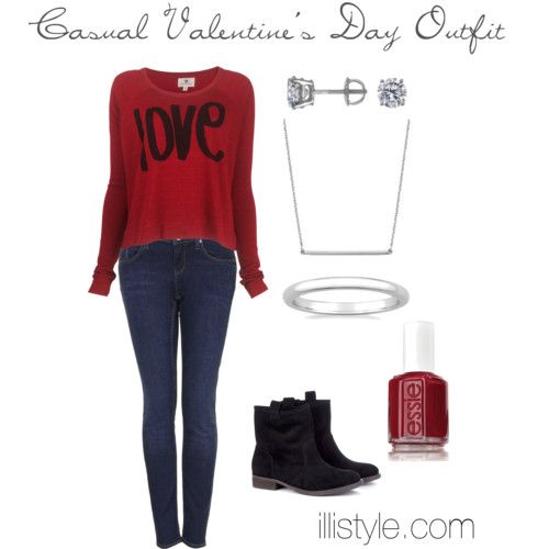 Casual Valentine's Day Outfit 2014