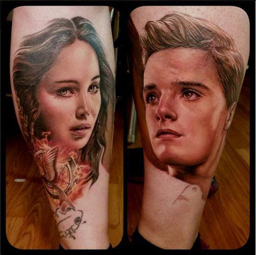 Sarah Miller Ink Master Body Hunger games tattoo Ka...