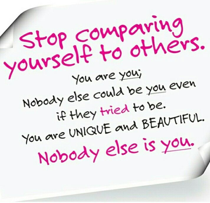 Because youbare unique and beautiful #KnowYourWorth