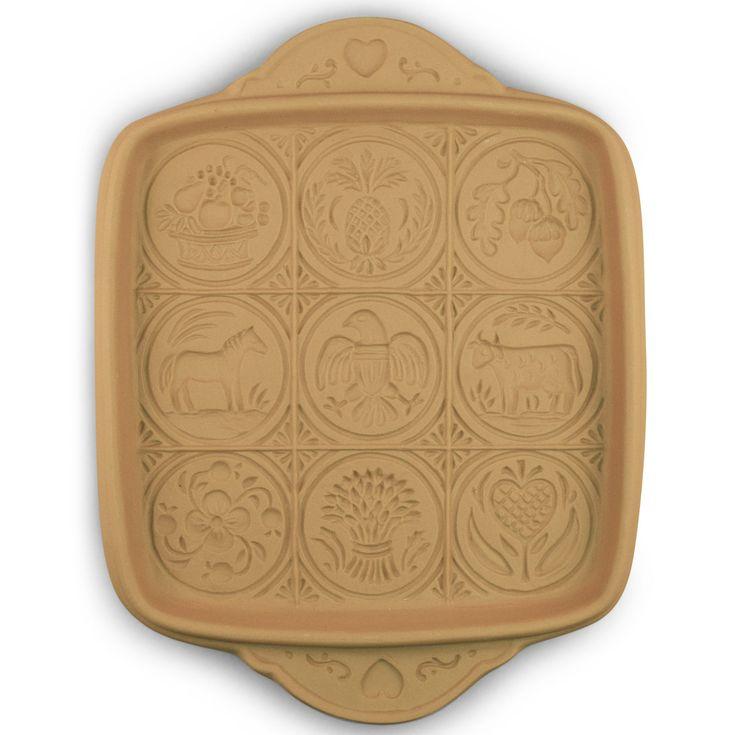 American Butter Art Shortbread Pan