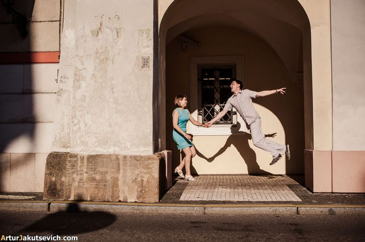 Honeymoon photos from Prague