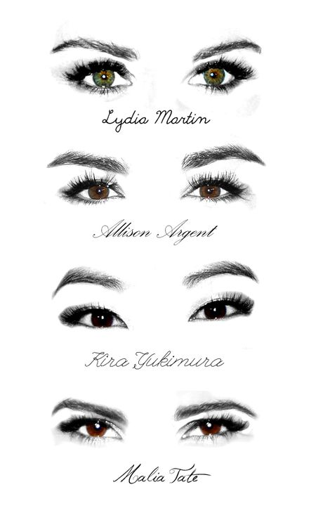 allison argent, crystal reed, eyes, holland roden, hot, lydia martin, teen wolf, kira yukimura, arden cho, malia tate, shelley henning