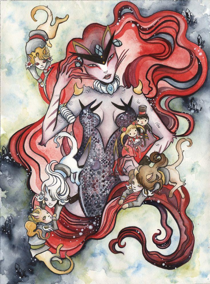 Kitty Queen Beryl by lolitaAgogo.deviantart.com on @deviantART