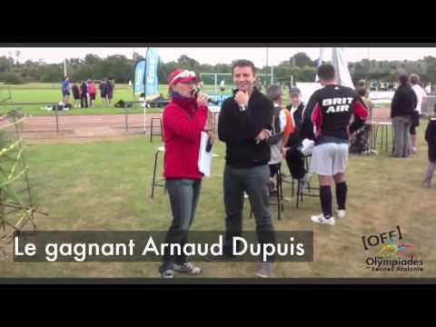 Olympiades 2012 _ Interview d'Arnaud Dupuis www.powedia.com