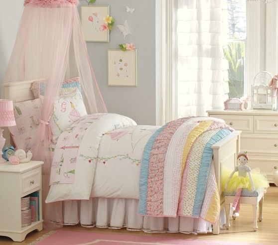 Grace Quilted Bedding | Pottery Barn Kids