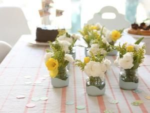 34 best images about baby shower flowers on pinterest - Idee deco vase en verre ...