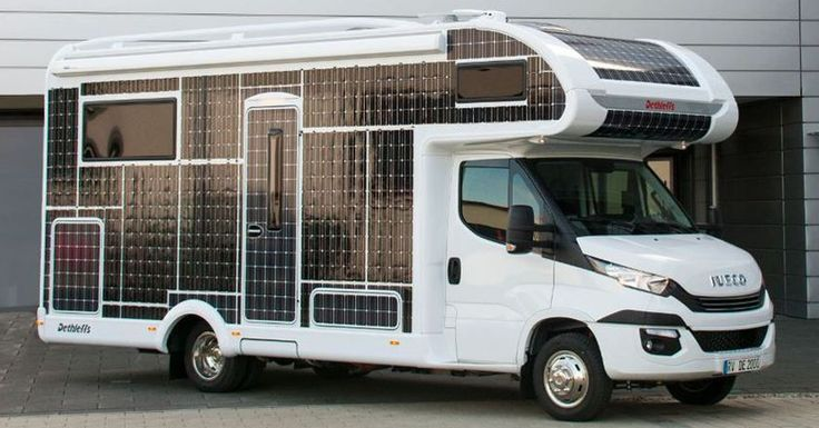 This Solar-Powered RV Runs Without Fuel Or Charging Stations