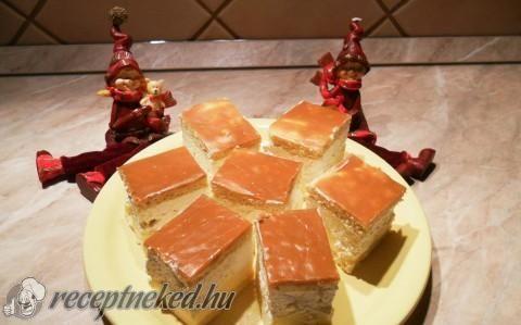 Karamellás krémes recept fotóval