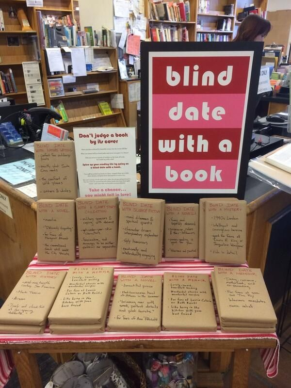 #blind #date with a #book