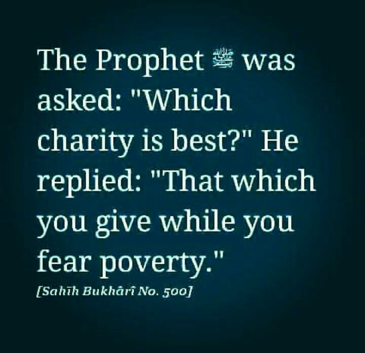 The best charity.