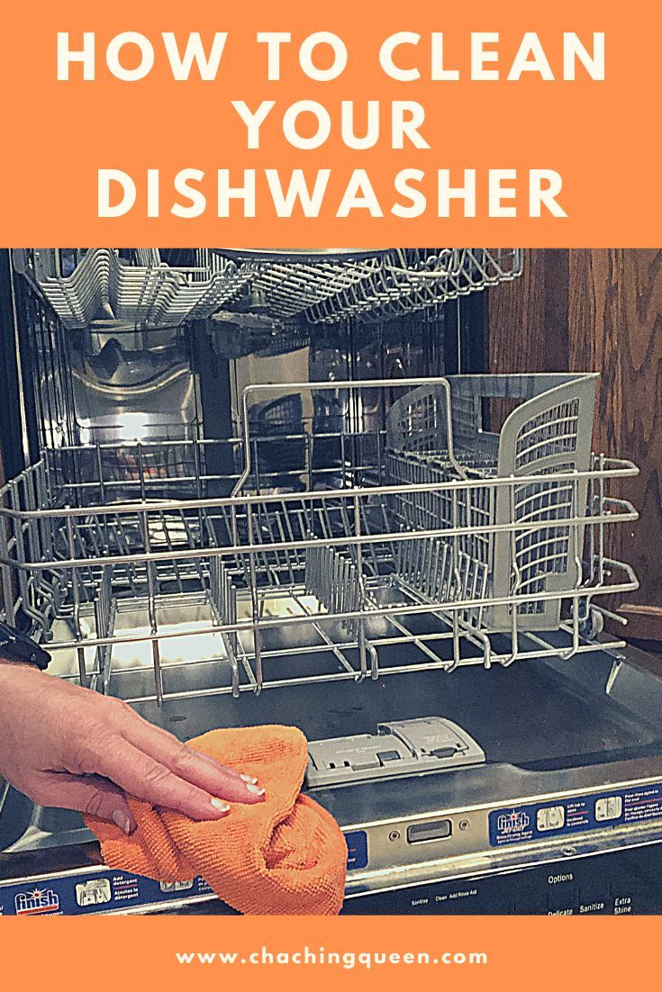 How To Clean Your Dishwasher With Vinegar And Cleaning Tablets Cha Ching Queen Cleaning Your Dishwasher Cleaning Tablets Cleaning