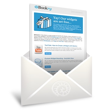 Bookry Newsletter for iBooks Author widgets. Subscribe today!