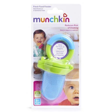 Munchkin Ниблер  — 370р. --------------------------------------- Ниблерголубогоцвета марки Munchkin длямальчиков. Ниблер позволит малышу наслаждаться свежими продуктами безопасно и без риска удушья. Кусочки овощей и фруктов будут находиться в сетчатом мешочке, а надёжная застёжка не дастребёнку случайно открыть ёмкость. Ниблер с удобной ручкой в форме кольца подходит для любой пищи, включая замороженные фрукты, бананы, морковь и прочее. Ниблер не содержит Бисфенол А, его можно мыть в…
