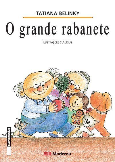 """""""O Grande Rabanete"""" é um verdadeiro presente para as crianças que estão aprendendo a ler. A história é narrada na forma de um conto cumulativo, estimulando a memória. O rabanete cresceu-cresceu e ficou grande-grande, com toda qualidade e criatividade linguística das obras da autora Tatiana Belinky."""