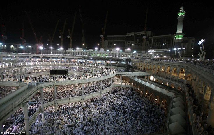 Amazing photos as Hajj begins