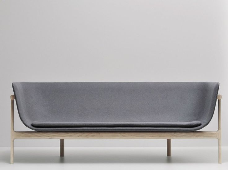Upholstered fabric sofa LOUNGE SOFA by MENU | design Rui Alves