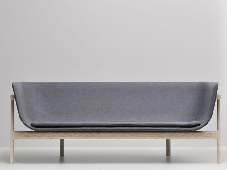 Upholstered fabric sofa LOUNGE SOFA by MENU | design Rui Alves